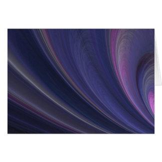 Purple Soft Sand Waves Card