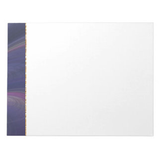 Purple Soft Sand Waves Notepad