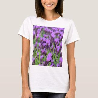 Purple Spanish Lavender Flower T-Shirt