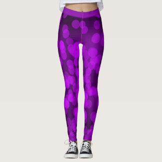 Purple Sparkle Leggings