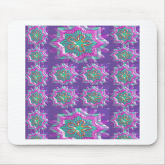 PURPLE Sparkle Star Pattern Goodluck Holy fun GIFT Mouse Pads