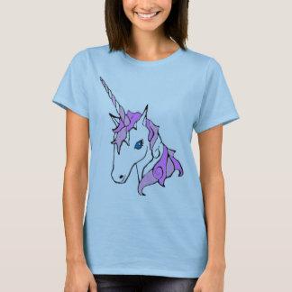 Purple Sparkle Unicorn T-Shirt