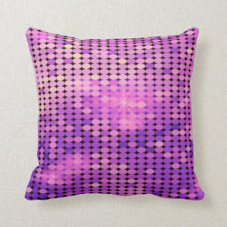 purple sparkles throw pillow