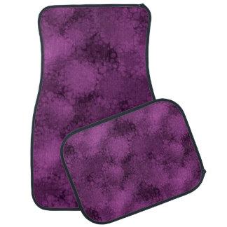 Purple Speckles Car Mat
