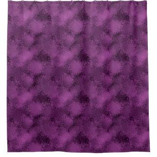Purple Speckles Shower Curtain