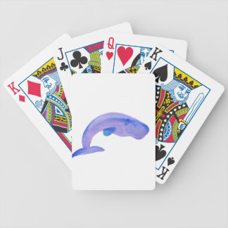 Purple Sperm Whale Bicycle Playing Cards