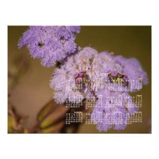 Purple Spiky Flower; 2013 Calendar Photo
