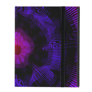 Purple Spiral Psychedelic iPad Case