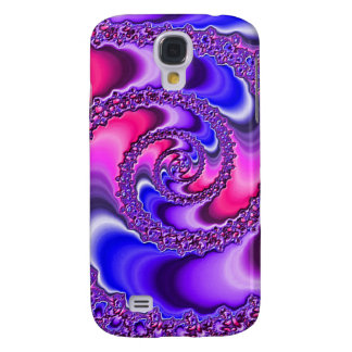 Purple Spiral Samsung Galaxy S4 Cover