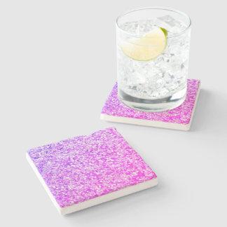 Purple-Splash-Accent-Coasters Stone Coaster