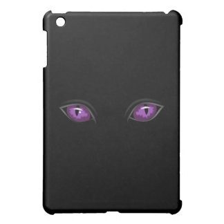 purple spooky eyes iPad mini cover