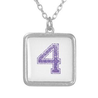 Purple Sports Jerzee Number 04.png Custom Jewelry
