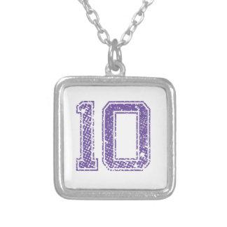 Purple Sports Jerzee Number 10.png Jewelry