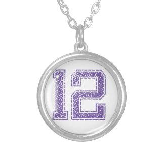 Purple Sports Jerzee Number 12.png Custom Jewelry