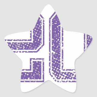 Purple Sports Jerzee Number 20.png Star Sticker