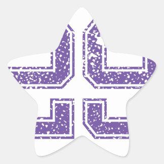 Purple Sports Jerzee Number 29.png Star Sticker