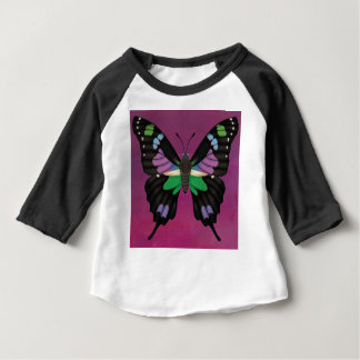 Purple Spotted Swallowtail Baby T-Shirt