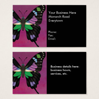 Purple Spotted Swallowtail Business Card