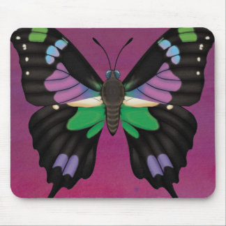 Purple Spotted Swallowtail Mouse Pad