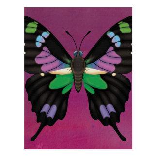 Purple Spotted Swallowtail Postcard