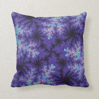 Purple Spraypaint Pillow Throw Cushions
