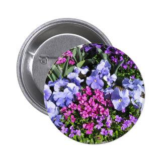 Purple Spring Flowers Pins
