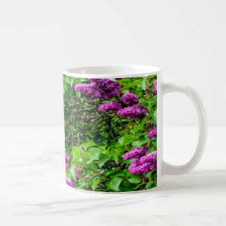 Purple Spring Flowers Mugs