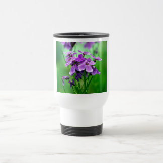 Purple spring flowers Travel Mug