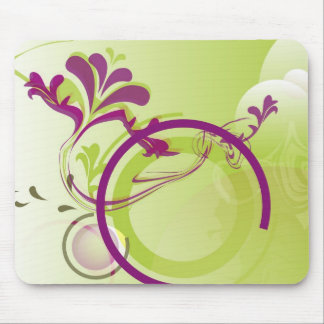 Purple Spring Mouse Pad