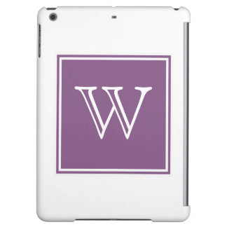Purple Square Monogram