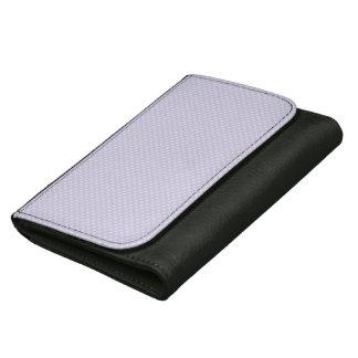 Purple Square Polka Dot Change Purse Wallet