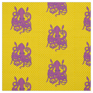 Purple Squid Fabric