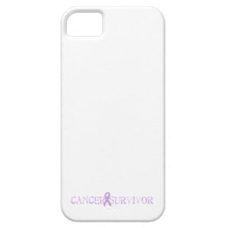 Purple Stamp Survivor iPhone 5 Case