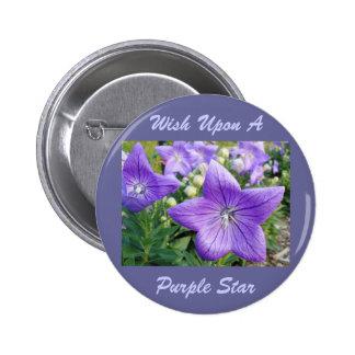 Purple Star Pins