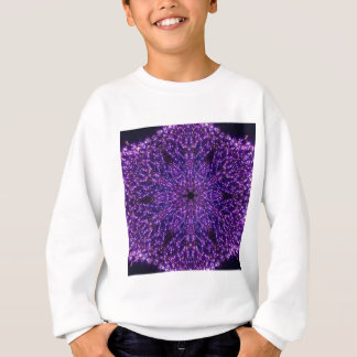 Purple star lights sweatshirt