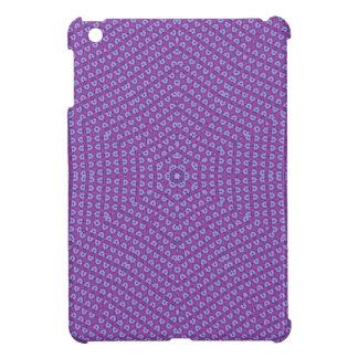 Purple Star pattern Cover For The iPad Mini