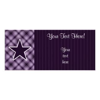 Purple Star Customized Rack Card