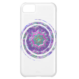 Purple STAR Sparkle iPhone 5C Case
