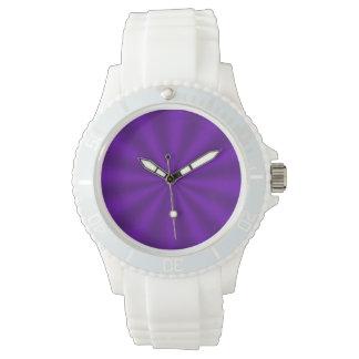 Purple Starburst Watch