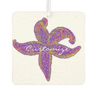 purple starfish Thunder_Cove Car Air Freshener