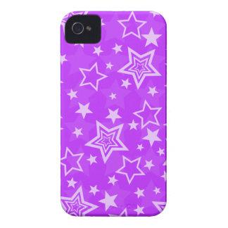 Purple Stars BlackBerry Bold Case