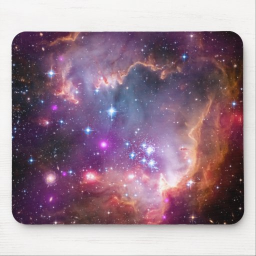 Purple Stars Galaxy Space Astronomy Mousepads