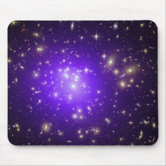 Purple stars haze in space NASA Mouse Pad