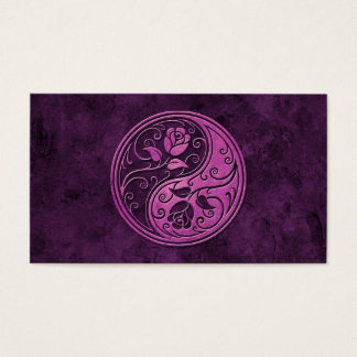 Purple Stone Yin Yang Roses