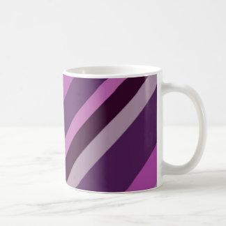 Purple stripe mug