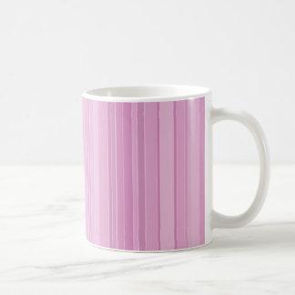 Purple Striped Mug