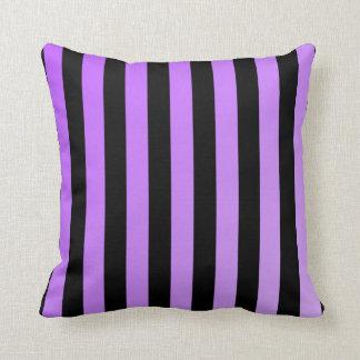 Purple Stripes (Faint Ombre) Cushion