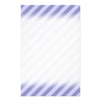 Purple stripes. full color flyer