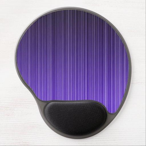Purple Stripes Gel Mousepads