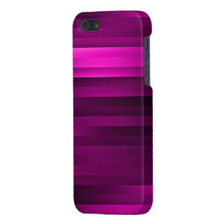 Purple Stripes iPhone 5 Case